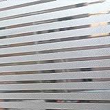 LMKJ Película de Ventana privacidad baño Ventana Vidrio película electrostática PVC Pegatina para decoración de baño película de privacidad A12 30x200cm
