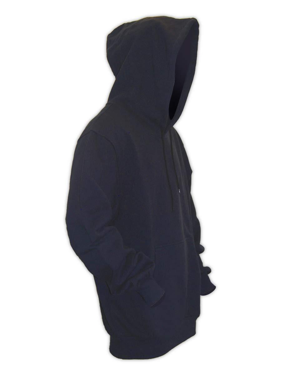 Bombing new work Magid PHC12DHN Dual-Hazard 12.0 Popular product oz. Sw Hooded Pullover Fleece FR