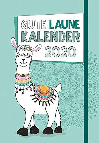 Gute Laune - Kalender 2020: Taschenkalender mit Lesebändchen und Gummiband