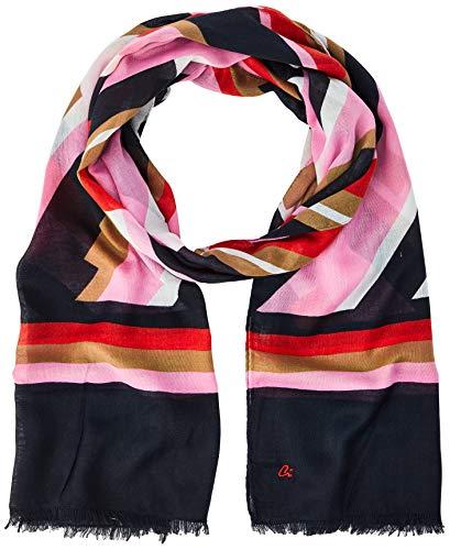 Comma CI Damen 88.003.91.6315 Mode-Schal, 44D3 cosm. Pink Placed, 1