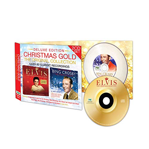 Bing Crosby & Elvis Christmas Gold:The Collection Deluxe Edition Original Recordings [Import]