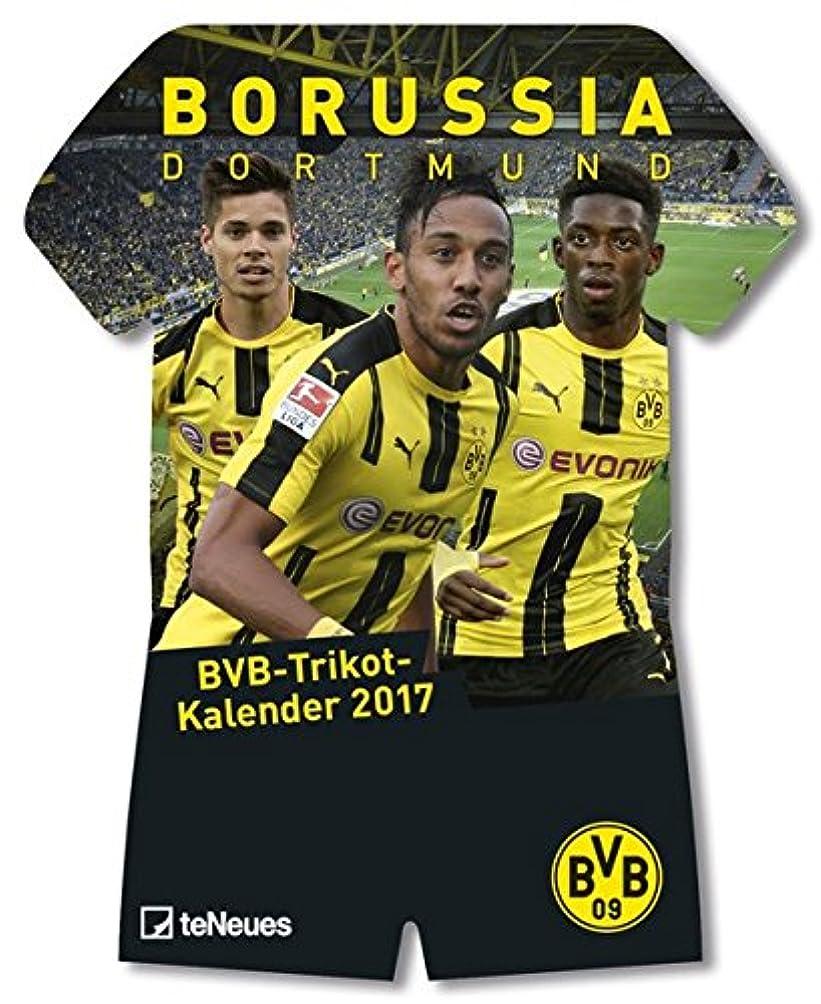 知事疑問を超えて変装したBorussia Dortmund Trikotkalender 2017