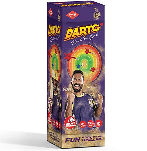 Kaadoo Darto-KKR-Magnetic Dartboard Cricket Game