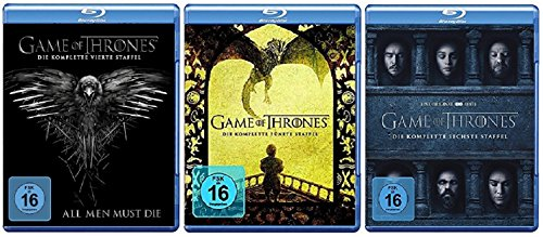Blu-ray Set * Game of Thrones - Season / Staffel 4+5+6