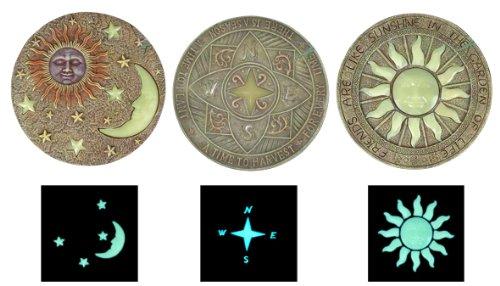 Benelando® Fluoreszierende Trittsteine in 3 Motiven (Alle Motive)