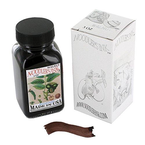 Noodler's Ink Fountain Pen Bottled Ink, 3oz, Walnut