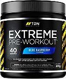 Pre Workout Supplement - Extreme Pre Workout Powder - 40 Servings - UK Made Premium Preworkout Drink with Beta-Alanine, Taurine, L-Isoleucine, D-Aspartic Acid, L-Valine, Caffeine