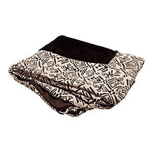 Furhaven Pet Dog Bed Cover – Plush Kilim Traditional Sofa-Style Living Room Couch Pet Bed Replacement Cover for Dogs and Cats, Desert Brown, Large