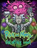 Rick And Morty Coloring Book: A Fun Coloring Book for Kids, High Quality Coloring Pages Featuring Rick and morty tv show
