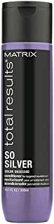 Matrix Total Results So Silver   Toning Purple Conditioner For Blondes, Greys & Silvers 300 ml