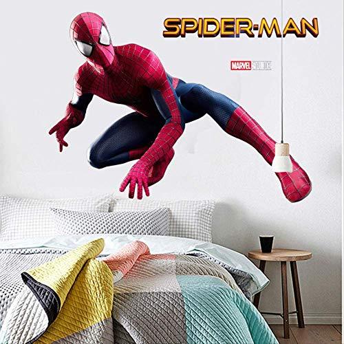 Avengers Superhero Muurstickers Kinderkamer Deuren en Ramen Hoek Corridor Creatieve Woonkamer Decoratie Schilderij Zelfklevend
