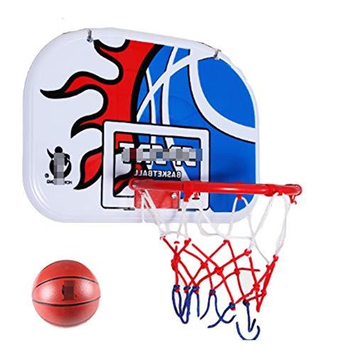 MHCYKJ Mini Canasta Baloncesto Pared Tablero De Aro Montado En La para Niños Colgar sobre Puertas Hogar Oficina Dormitorio Juego