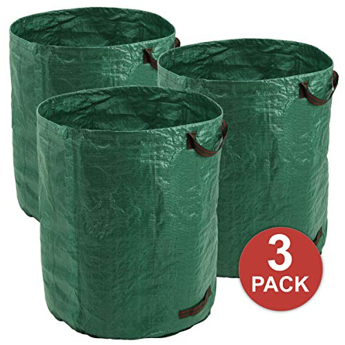 For Sale! GigaTent Garden Waste Bags - 79 Gallons Reusable Yard Leaf Bag - Durable & Portable Garden...