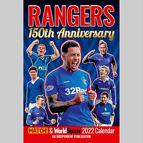 Official Glasgow Rangers 2022 Calendar - Month To View A3 Wall Calendar (The Official Glasgow Rangers FC A3 Calendar 2022)