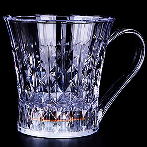 Glow Castle Remanbar Creative Diamond Cup LED Luminous Cup Induction Diamond Cup Whisky Induction Cup