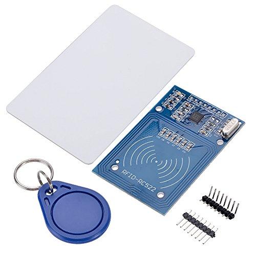 Unbekannt RC522 IC Card RFID RFID Module Kits KeyCard/RF Reader IC Karte Modul DC 3.3V 13,56 MHz für Arduino Zugangssystem