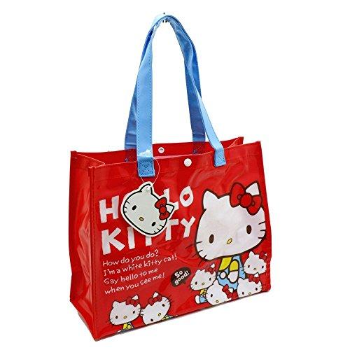 Joli sac Hello Kitty Rouge Avec Poche interne