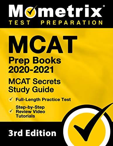 MCAT Prep Books 2020-2021 - MCAT Secrets Study Guide, Full-Length Practice...