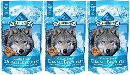 Blue Buffalo Wilderness Denali Biscuits Dog Selling and Challenge the lowest price of Japan ☆ selling Grain US Treats Free