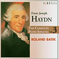 Piano Sonatas 3 by Haydn (1999-10-26)