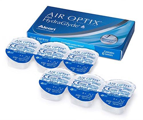 Air Optix HydraGlyde Monatslinsen weich, 6 Stück / BC 8.6mm / DIA 14.2 / -5 Dioptrien - 6