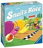Ravensburger Snails Race, Juegos para Niños, 25 Jugadores, Edad Recomendada 3+, multicolor (20629 2)