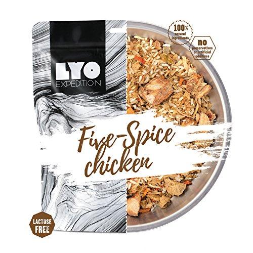 LYOFOOD Fünf Gewürze Hähnchen mit Reis, 82g