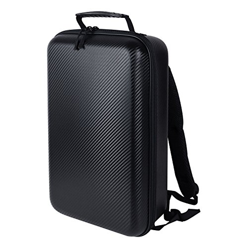 HMF 18678-02 DJI Mavic Pro Hard Shell Backpack, Outdoor, Carbon-Optics, 43 x 27 x 13 cm