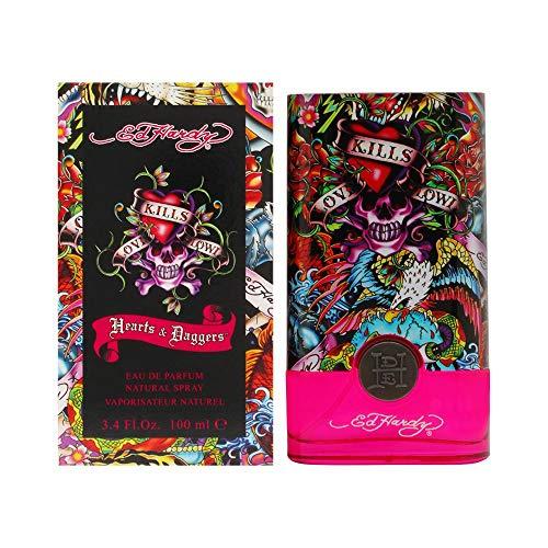 Ed Hardy Hearts & Daggers 3.4 Edp Sp For Women Fragrance:women 0