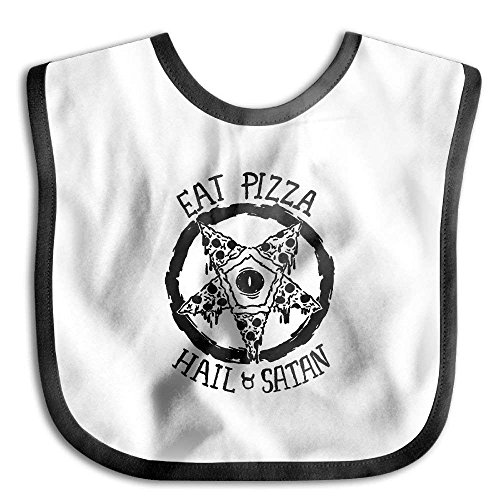 Eat Pizza Hail Infant Bib Waterproof Bib For Drooling And Teething