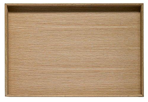Sagaform 5017606 Tablett, Eichenholz, Braun, 50 x 34 x 6,3 cm