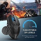 IMG-1 tecknet mouse da gioco wireless