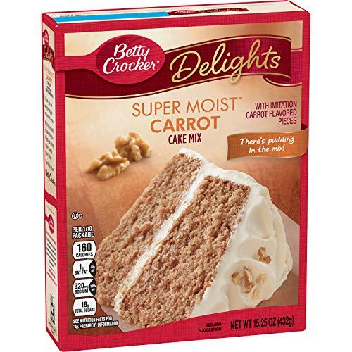Betty Crocker Super Moist Carrot Cake Mix - 432 gr