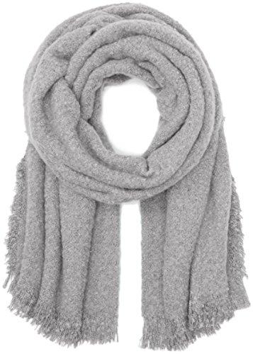 ICHI Damen Schal A BEA SC Grau (Light Grey Melange 10019) One size