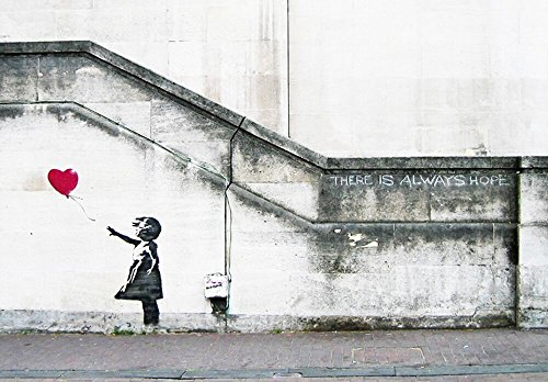 Top banksy balloon girl canvas for 2020
