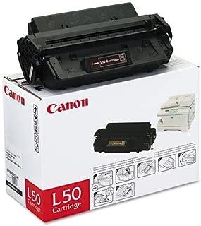 CANON L50 L50 (L-50) Toner, 5000 Page-Yield, Black