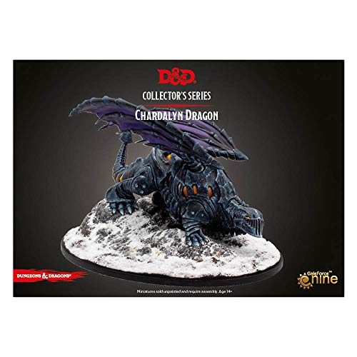 Gale Force Nine Icewind Dale Rime of the Frostmaiden Dragon of Black Ice (1Fig)