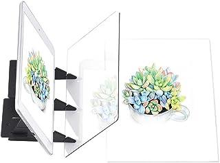 Aibecy Planche à dessin optique de traçage Portable Esquisse Outil de peinture Animation Pavé de copie Aucun chevauchement...