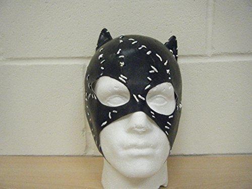 WRESTLING MASKS UK Catwoman Batman Deluxe Latex Horror Halloween Fancy Dress Costume Head Mask