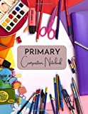 Primary Composition Notebook: Colourful Composition Notebook for Girls   8.5x11'   120 white lined sheets