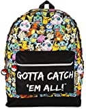 Pokemon GOTTA CATCH 'EM ALL Oficial Mochila Bolsa Escuela Correas Ajustables