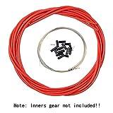 Aulola Kit de câbles et de gaines pour freins et dérailleurs avant et arrière pour...