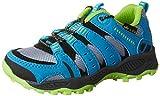 Lico Fremont, Zapatos de Low Rise Senderismo Unisex Niños, Gris (Gr/Blau/Lemon Gr), 30 EU