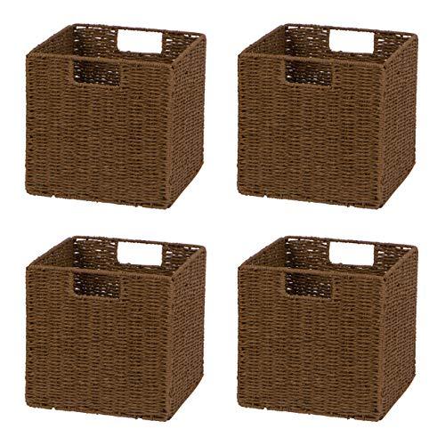 Better Homes and Gardens 9-Cube Versatile Organizer Storage Bookcase (Gray)