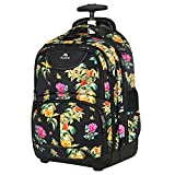 Backpack with Wheels, Travel-friendly Rolling Laptop Backpack for Men...