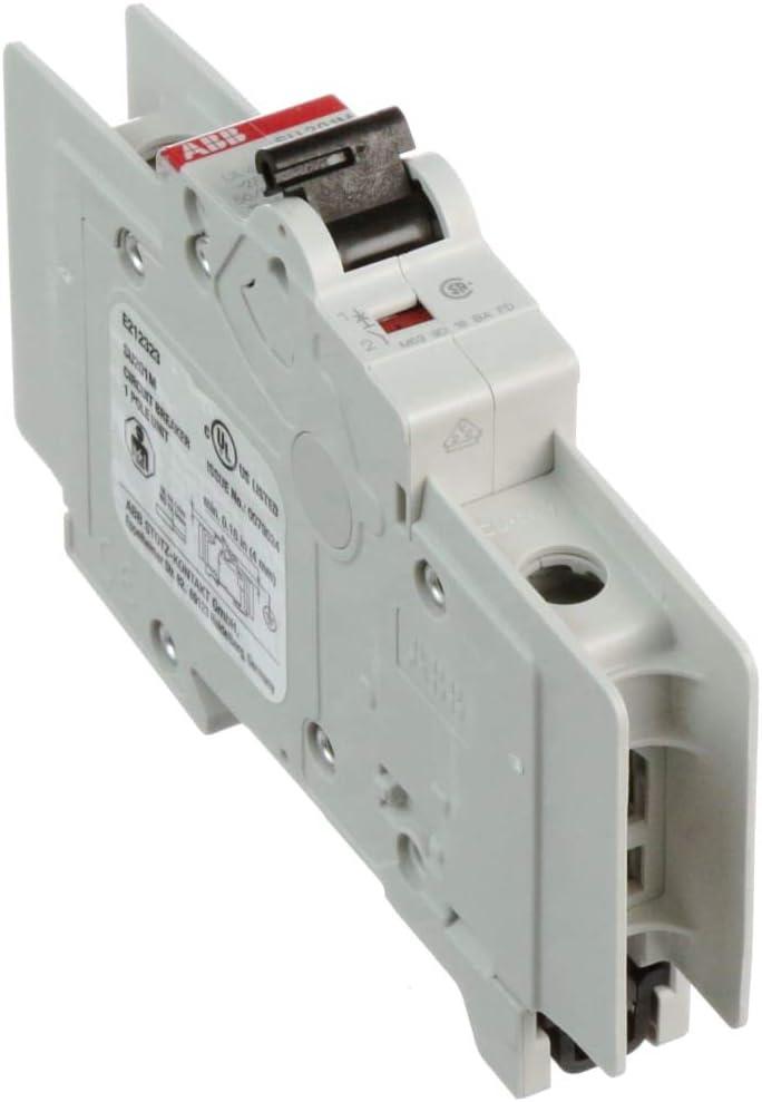 Miniature Circuit Breaker; Elegant Trip Curve Z; UL489 P Amp; 1 High quality Pole; 6