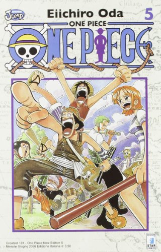 One piece. New edition: 5