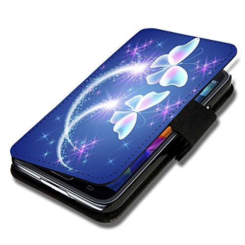 wicostar Book Style Flip Handy Tasche Hülle Schutz Hülle Schale Motiv Etui für Huawei Ascend Y330 - Flip X12 Design12