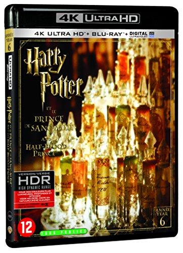 Harry Potter et le Prince de Sang-Mêlé - Année 6 - Le monde des Sorciers de J.K. Rowling - 4K Ultra HD [4K Ultra HD + Blu-ray + Digital UltraViolet]