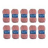 26 difusión 10 ovillos de Lana para Tejer Distrifil Azurite 1979 barato-1979 100% acrílico